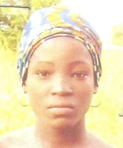 Amina Ali before abduction