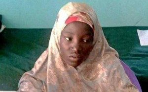 Amina Ali after abduction